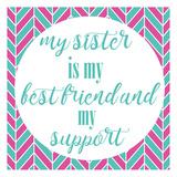 Sister Besties Posters par Jelena Matic