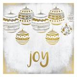 Joy Christmas Poster di Kimberly Allen