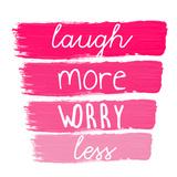 Laugh More Láminas por Jelena Matic