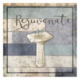 Rejuvenating Wooden Bath Posters af Jace Grey
