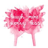 Worry Less Láminas por Jelena Matic