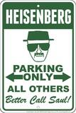 Heisenberg Plaque en métal