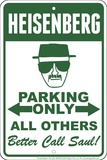 Heisenberg Blikkskilt