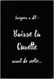 Jacques A Dit Cuvette Oui Pósters