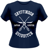 Women's: Harry Potter- Quidditch Captain T-Shirts