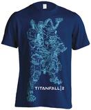 Titanfall 2- BT-7274Schematic T-Shirt