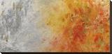 Epoch Spring Bedruckte aufgespannte Leinwand von Lynn Basa