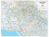 2014 Afghanistan Pakistan - National Geographic Atlas of the World  10th Edition