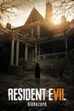 Resident Evil- Biohazard Key Art Prints