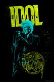 Billy Idol - Hot In The City Bedruckte aufgespannte Leinwand