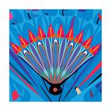 Nature Fan, Anturio Color Giclee Print by Belén Mena