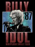 Billy Idol - Whiplash Smile Tour, 1987 Bedruckte aufgespannte Leinwand