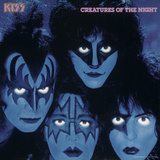 KISS - Creatures from the Night (1982) キャンバスプリント