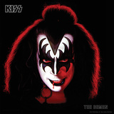 KISS - The Demon, Gene Simmons (1978) Stretched Canvas Print