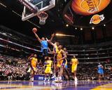 Oklahoma City Thunder v Los Angeles Lakers Photographie par Andrew D Bernstein