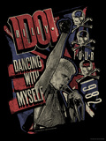 Billy Idol - Dancing With Myself Tour, 1982 Poster