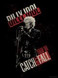 Billy Idol - Catch My Fall Tour, 1984 Bedruckte aufgespannte Leinwand