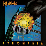 Def Leppard - Pyromania 1983 キャンバスプリント