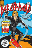 Def Leppard and the Women of Doom! Affiches