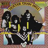 KISS - Hotter Than Hell (1974) キャンバスプリント