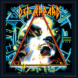 Def Leppard - Hysteria 1987 Stretched Canvas Print