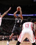 San Antonio Spurs v Houston Rockets Photographie par Bill Baptist