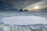 Entrance of the Lemaire Channel Along the Antarctic Peninsula Photographic Print by Jeff Mauritzen
