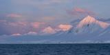 Snowcapped Mountain Along the Gerlache Strait, Antarctica Photographic Print by Jeff Mauritzen