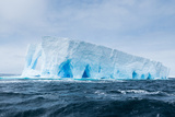 A Tabular Iceberg Floats in the Drake Passage, Antarctica Photographic Print by Jeff Mauritzen