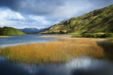 Middle Lake Kylemore in Ireland's Connemara, County Galway Lámina fotográfica por Chris Hill