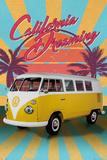 VW- California Dreaming Camper Van Planscher
