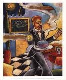 Vincent's Soupe Kunstdrucke von John Milan