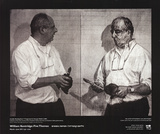 Invisible Mending Posters by William Kentridge