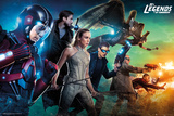 Legends of Tomorrow- Season 1 Team Kunstdruck