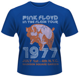 Pink Floyd- In The Flesh Tour, NYC 77 T-Shirts