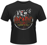 AC/DC- Highway to Hell Button T-Shirts