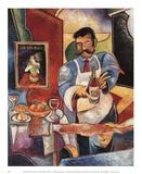 Restaurante Palio Rosso Kunst von John Milan