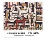 Le Petit dejeuner Posters av Fernand Leger