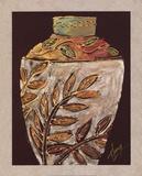 Sumach Leaf Pottery Pósters por Charles Thompson