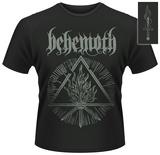 Behemoth- Furor Divinus Monochrome (Front/Back) T-paita