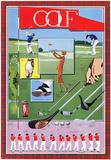 Golfe Pôsters por L. Patrignani