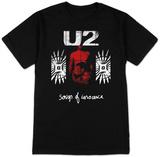 U2- Songs Of Innocence Red Shade T-Shirts