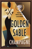 Golden Sable I Posters by Poto Leifi