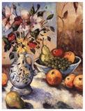 Obst und Blumen I Poster von John Milan