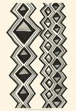 Mud Cloth Study I Posters by Renee W. Stramel