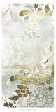Metallic Flower Garden I Prints by June Erica Vess