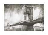 Historic Suspension Bridge I Limited edition van Ethan Harper