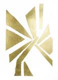 Gold Foil Symbiotic VI Prints by June Erica Vess