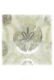 Metallic Shell Tiles II ポスター : ジュン・エリカ・ベス