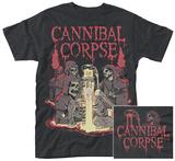 Cannibal Corpse- Skelatal Baptism (Front/Back) T-Shirts